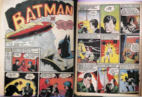 Batman's origin story in Detective Comics (1937) #33