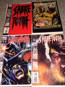 Sabretooth Death Hunt 1-4